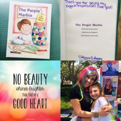 Young Author Shares Book with Sheri Fink