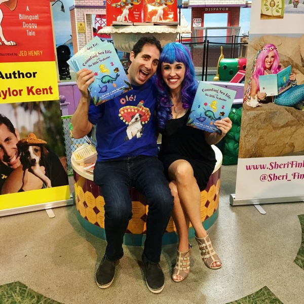 Counting Sea Life with the Little Seahorse Authors Sheri Fink And Derek Taylor Kent