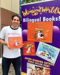 Best-selling Bilingual Book Author Derek Taylor Kent