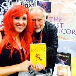 Sheri_Fink_Meets_The_Last_Unicorn_Author