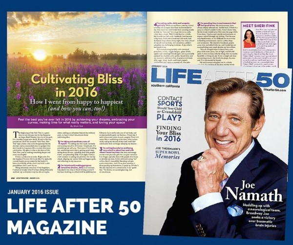 Cultivating Bliss Inspirational Article by Sheri Fink