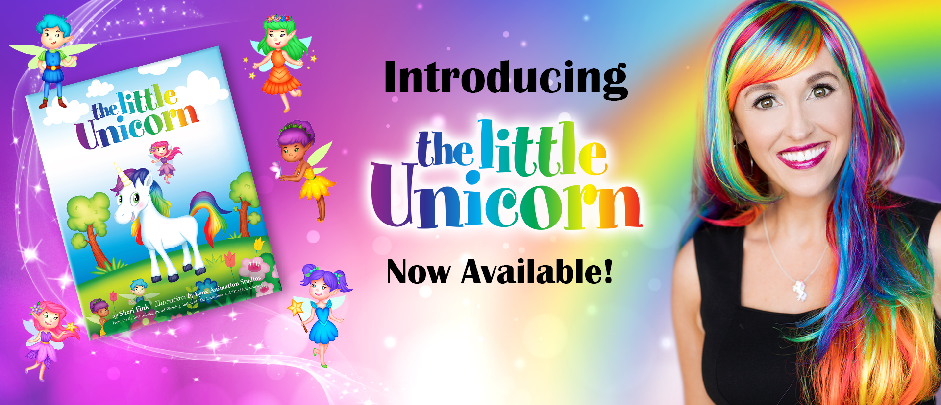 The Little Unicorn by Sheri Fink