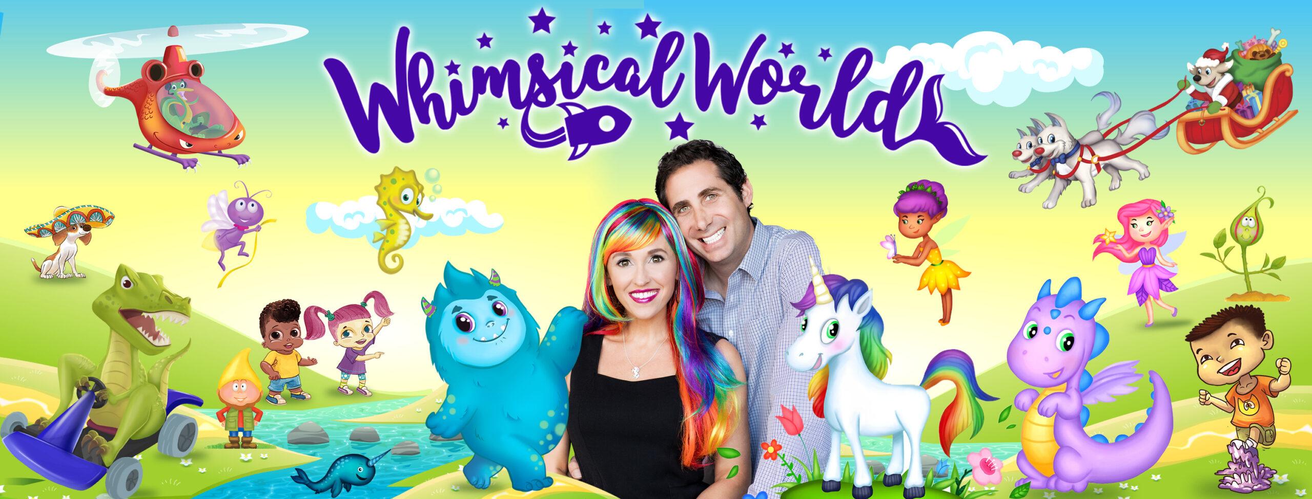 Whimsical World Books by Sheri Fink and Derek Taylor Kent
